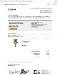 Confirm Of Receipt Amazon Email Receipt Email Design Inspiration Invoice