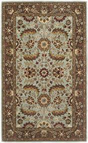safavieh heritage hg962a blue brown area rug