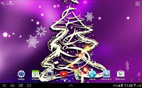 3D Christmas Tree Wallpaper- screenshot