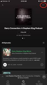 Kemudian, tap pada ikon tiga titik di bagian atas dan tap lagi pada pengaturan. Share Your Podcast To Instagram Anchor