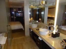 bathroom suite mandarin: mandarin oriental las vegas bathroom in junior suite