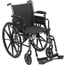 silla de ruedas pasiva / de exterior / de interior / ajustable en altura -  Cruiser III