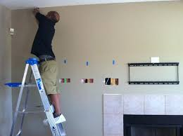 installing tv into brick fireplace mounted over surround sound installation hang above stone m l f
