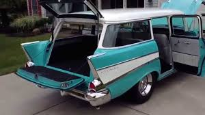 1957 Chevy Wagon - YouTube
