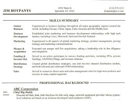 resume : Professional Summary Resume Inviting Professional Summary ...