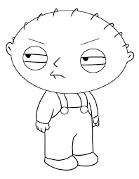 Family Guy Coloring Pages For Kids