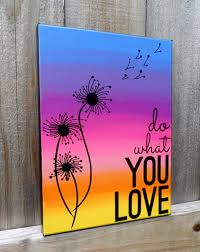 DIY Canvas Painting Ideas - Quote Canvas Art - Cool and Easy Wall Art Ideas  You