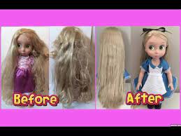 how to fix doll hair re tangled