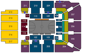 Seating By Venue Griztix University Of Montana