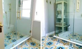black and white cement tile bathroom floor cement tile bathroom cement tiles on bathroom floor black