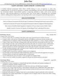 Mechanical Engineer Resume  Safety Officer Resume ...