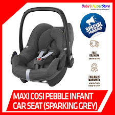 maxi cosi pebble car seat sparking grey and go installation