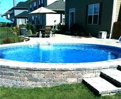 above ground swimming pool ideas. Brilliant Swimming Pool Ideas On A Budget Above Ground Deck Patio    To Above Ground Swimming Pool Ideas