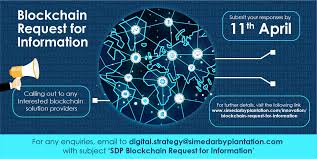 Blockchain Request For Information Sime Darby Plantation