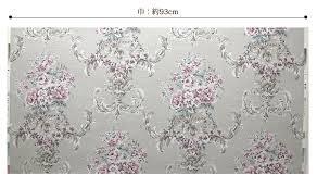 壁紙 のり付き 花柄 クロス おしゃれ 壁紙 アンティーク クラシック花柄 壁紙張り替え Diy リフォーム 国産壁紙