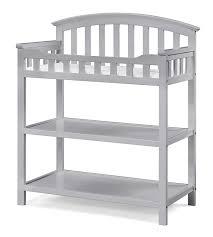 amazoncom  graco changing table pebble gray  baby
