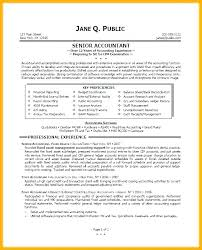 Accountant Resume New Accountant Resume Sample General Ledger Accounting And Tips Staff R