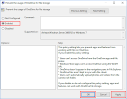 how to disable onedrive in windows 10