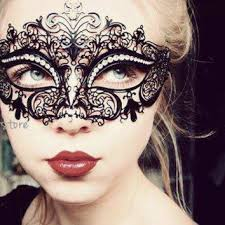 look makeup ideas luxury black laser cut venetian masquerade mask cosplay with spa