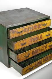 british 1930s garage toolbox metal four drawers uk for