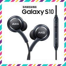 Tai Nghe Samsung Galaxy S10, Samsung S10 Plus AKG Zin Theo Máy, Tặng Kèm 4  Nút Tai & Túi Đựng