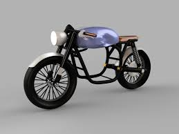 Bmw R65 Cafe Racer Electric Motorcycle Version Autodesk Online Gallery