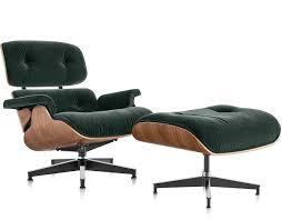 Eames Chair With Ottoman Eamesr Lounge Chair Ottoman In Mohair Supreme Hivemoderncom