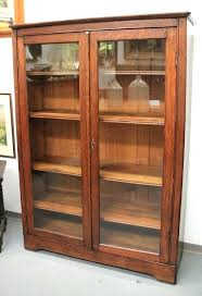bookcases bookcase glass doors bookcases wood with furniture found in mission oak door sold pertaining