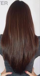 Layer V Shape Haircut The Long