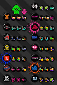 Splatoon 2 Brand Chart Updated Splatoon 2 Brand Abilities Chart Credit To U Xgumby