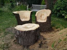 rustic tree furniture. beautiful rustic pieces of furniture for the house or garden tree
