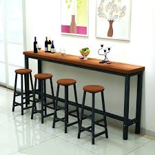 wall bar tables back to wall bar table any corner is suitable wall mounted bar table
