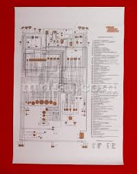 fiat dino 2400 coupe wiring diagram 59x84 cm electrical and fiat dino 2400 coupe wiring diagram 59x84 cm