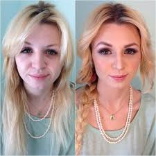 airbrush makeup has bee more por because of the stunning results that it offers here are 20 before and after photos of women using airbrush makeup