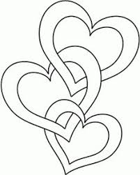 Small Picture Heart Coloring page could be a nice quilling pattern too