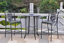 amazing wrought iron patio table