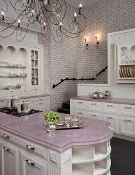 fa569 pink kitchen marble countertops brick wall better