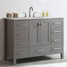 Save Left Side Sink Vanity Wayfair48