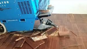 O Glue Down Carpet Removal Machine Terminator Infinity All Day Battery Ride  On Scraper