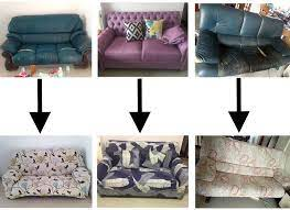 which transformed her sofa