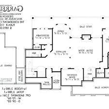 party house plans floor pool