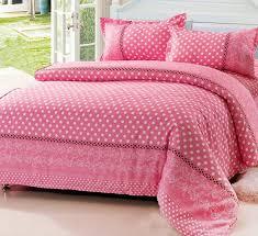 pink polka dot comforter sets