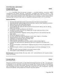 Business Resumes Insurance Business Analyst Resume Functional Analyst Sample Resume 93