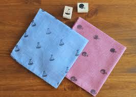 hand sted handkerchiefs