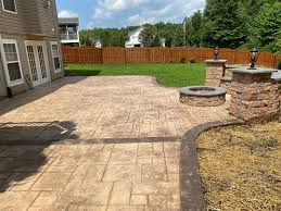 stamped concrete taking your concrete