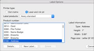 How To Print Avery 5160 Labels In Word Use Avery Templates In Word For Mac Word For Mac