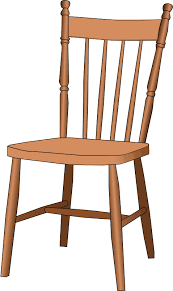 wooden chair clipart. Simple Wooden Windsor Chair With Wooden Clipart