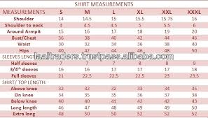 Kurti Size Chart India Bedowntowndaytona Com