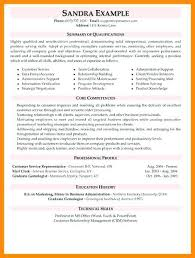Example Of A Customer Service Resume Beauteous Customer Service Resume Objective Examples From 48 Best Sample