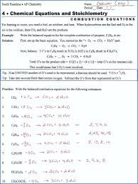 balancing chemical reactions worksheet awesome equations practice